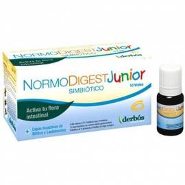 NORMO DIGEST JUNIOR 10 VIALES  DERBÓS PROBIOTICOS