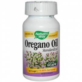 ACEITE DE ORÉGANO (OREGANO OIL) 60 CAPSULAS NATURE´S WAY