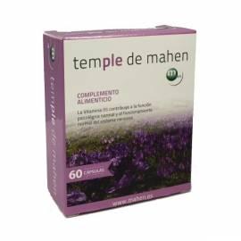 TEMPLE DE MAHEN 60 CAPSULAS FORMULA NERVIOS ANSIEDAD