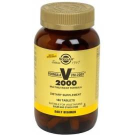 FORMULA VM-2000 180 COMPRIMIDOS SOLGAR