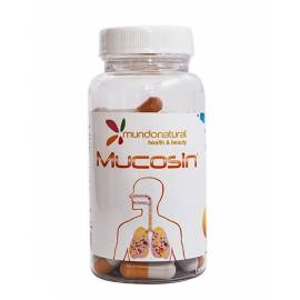 MUCOSIN 60 CAPSULAS MUNDO NATURAL