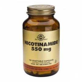 VITAMINA B3 550 MG NICOTINAMIDA 100 CÁPSULAS SOLGAR