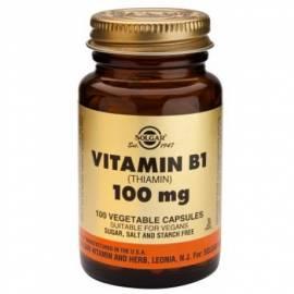 VITAMINA B1 100MG   100 COMPRIMIDOS SOLGAR