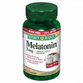 MELATOTINA 1MG 180 COMPRIMIDOS NATURE'S BOUNTY