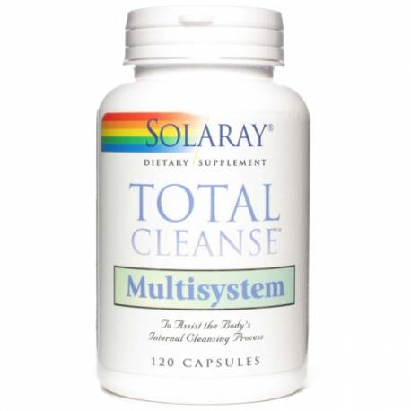 TOTAL CLEANSE MULTISYSTEM  120  CÁPSULAS  SOLARAY