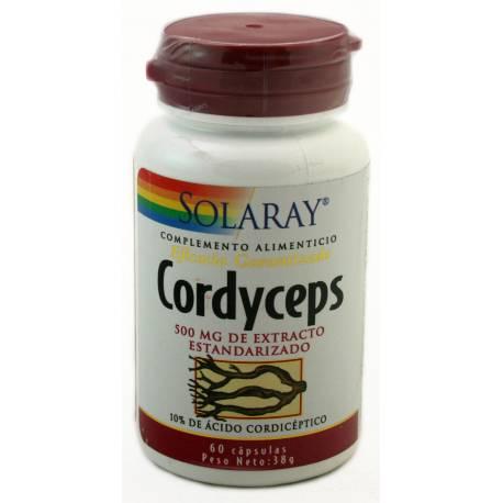 CORDYCEPS 500MG DE EXTRACTO 60 CÁPSULAS SOLARAY