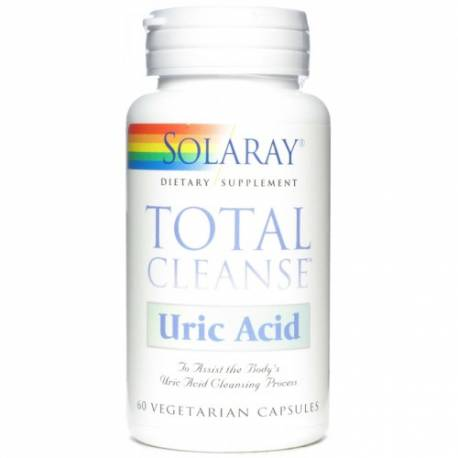 URIC ACID-TOTAL CLEANSE  60 CÁPSULAS SOLARAY