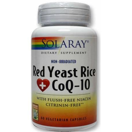 RED YEAST RICE CON COQ-10 60 CÁPSULAS SOLARAY