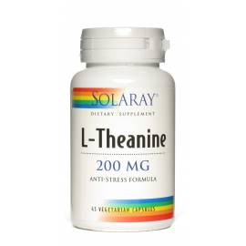 L-TEANINA (L-THEANINE) 200 MG 45 CÁPSULAS SOLARAY
