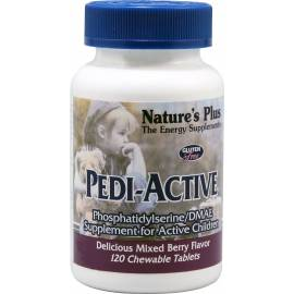 PEDI-ACTIVE NATURE'S PLUS 60 COMPRIMIDOS MASTICABLES