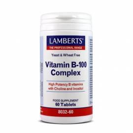 VITAMINA B100 COMPLEX 60 COMPRIMIDOS LAMBERTS