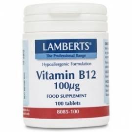 VITAMINA B12  100 ug  100 COMPRIMIDOS LAMBERTS