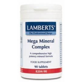 MEGA MINERAL COMPLEX 90 COMPRIMIDOS LAMBERTS