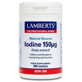 IODINE-YODO 150 ug 500 COMPRIMIDOS