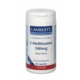 L-METHIONINE L-METIONINA 500MG 60  CAPSULAS LAMBERTS