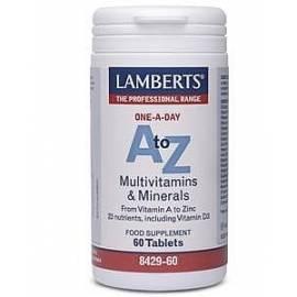 MULTIVITAMÍNICO A-Z 60 COMPRIMIDOS LAMBERTS