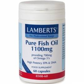 PURE FISH OIL-ACEITE DE PESCADO   1100 MG  60 PERLAS  LAMBERTS