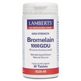 BROMELAIN-BROMELINA 1000 GDU 60 COMPRIMIDOS LAMBERTS