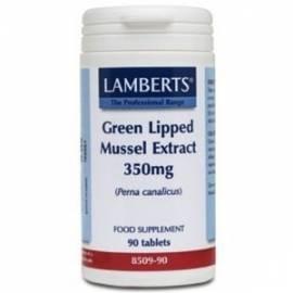 GREEN LIPPED MUSSEL EXTRACT - EXTRACTO DE MEJILLO LABIO VERDE 350 MG - 90 COMPRIMIDOS - LAMBERTS