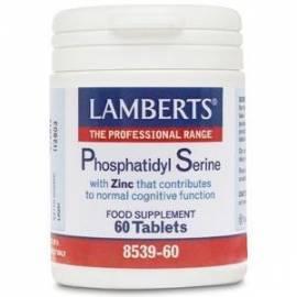 PHOSPHATIDILSERINE - FOSFATIDILSERINA 100 MG + ZINC - 60 COMPRIMIDOS - LAMBERTS
