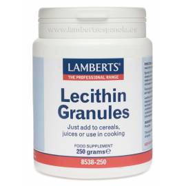LECITHIN GRANULES -  LECITINA SOJA GRANULADA 250 GR LAMBERTS