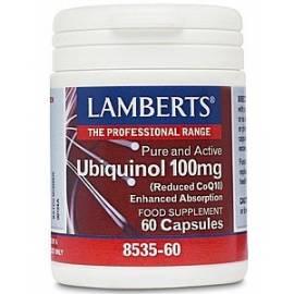 UBIQUINOL 100 MG 60 CAPSULAS LAMBERTS