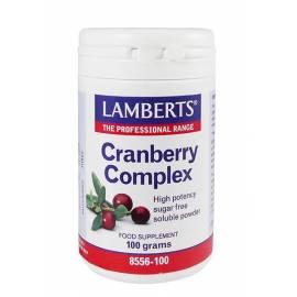 CISTITIS CRANBERRY COMPLEX COMPLEJO DE ARANDANO ROJO 100 GR -  LAMBERTS