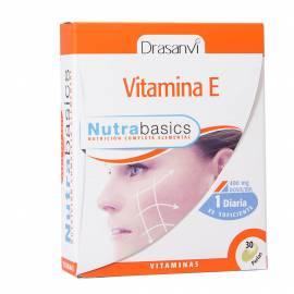 VITAMINA E - NUTRABASICS  30 PERLAS - DRASANVI