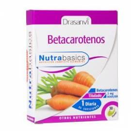 BETACAROTENOS NUTRABASICS -30 PERLAS  -DRASANVI