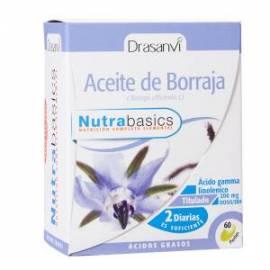 ACEITE DE BORRAJA - 60 PERLAS - NUTRABASICS  DRASANVI