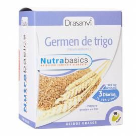 GERMEN DE TRIGO - 90 PERLAS - NUTRABASICS - DRASANVI
