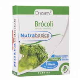 BROCOLI - NUTRABASICS - 24 CAPSULAS - DRASANVI
