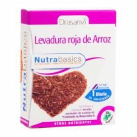 LEVADURA ROJA DE ARROZ 30 CAPSULAS NUTRABASICS DRASANVI