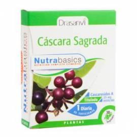 CASCARA SAGRADA - 30 CAPSULAS - NUTRABASICS - DRASANVI