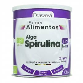 ALGA SPIRULINA - SUPER ALIMENTO - 200 GR - DRASANVI