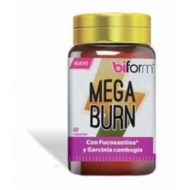 BIFORM MEGA BURN - QUEMAGRASAS - 60 CAPSULAS - DIETISA