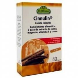 CINNULIN CANELA CAPS DR. DUNNER 40 CAPS