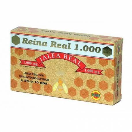 JALEA REAL  REINA REAL  1000 - 20 AMPOLLAS  ROBIS