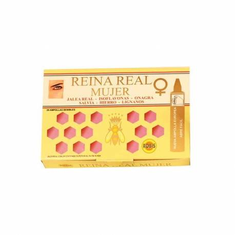 REINA REAL MUJER - JALEA REAL - 20 AMPOLLAS ROBIS