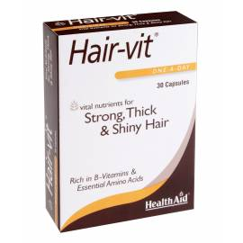 HAIR-VIT 30 CÁPSULAS  HEALTH AID