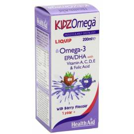KIDZ OMEGA 3 HEALTH AID 200 ML SABOR FRUTAS SILVESTRES