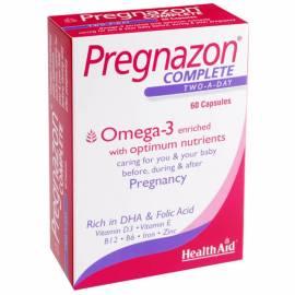 PREGNAZON COMPLETE 60 CÁPSULAS  HEALTH AID
