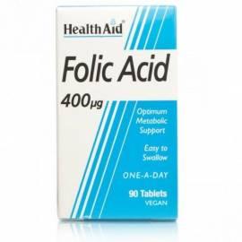 ÁCIDO FÓLICO 400UG HEALTH AID