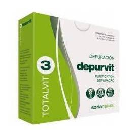TOTALVIT 03 - DEPURVIT - 28 COPMPRIMIDOS - SORIA NATURAL