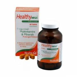 MULTIVITAMÍNICO HEALTHY MEGA 60 CÁPSULAS HEALTH AID