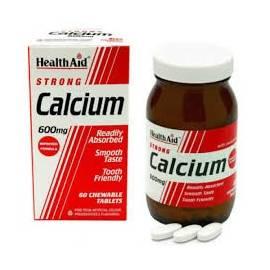 CALCIUM-CALCIO 600MG  60 COMPRIMIDOS HEALTH AID