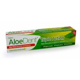 ALOEDENT- DENTRIFICO CON ALOE VERA Y FLUOR  100 ML - OPTIMA
