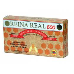 JALEA REAL REINA REAL 600 20 AMPOLLAS ROBIS
