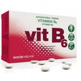 VITAMINA B6 48 COMPRIMIDOS RETARD SORIA NATURAL
