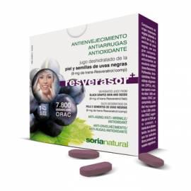 RESVERASOR PLUS 28 COMPRIMIDOS SORIA NATURAL FORMULA ANTIOXIDANTE ANTIEDAD